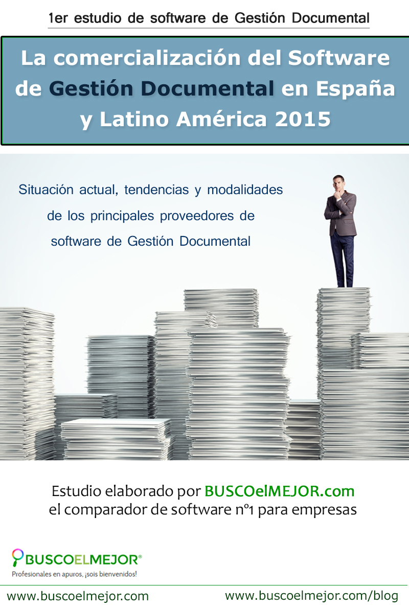 Infografía Estudio Gestión Documental