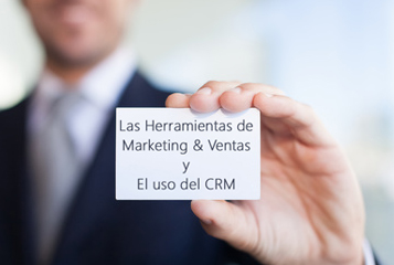 Infografía del Estudio de Marketing & Ventas y el uso del CRM