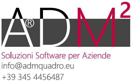 Software ADMquadro SRL: ERP